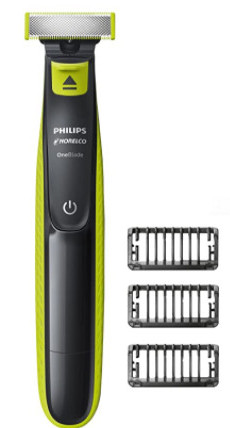 Philips Norelco OneBlade Hybrid Electric Trimmer