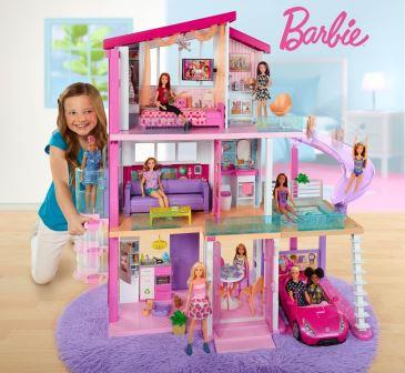 Barbie-dreamhouse the list of best Christmas gifts for kids in 2020.