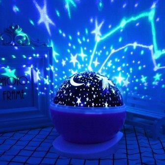 Night-lights-with-stars-for-kids the list of best Christmas gifts for kids in 2020.