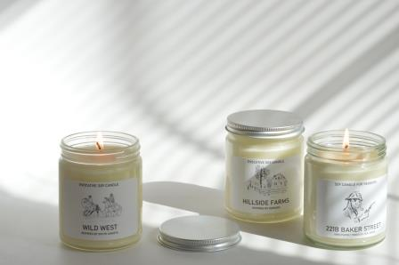 Scented-state-candles